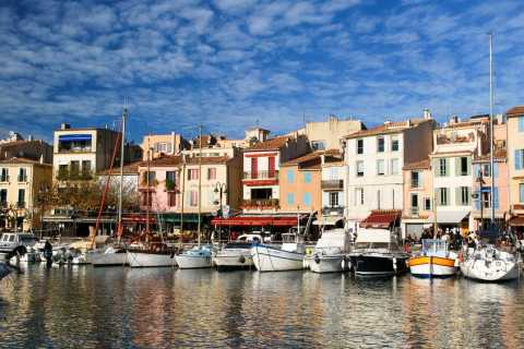 From Marseille Port: Excursion to Marseille and Cassis