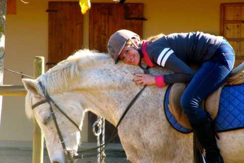 Cavallo privato equitazione e Nature Tour di Barcellona