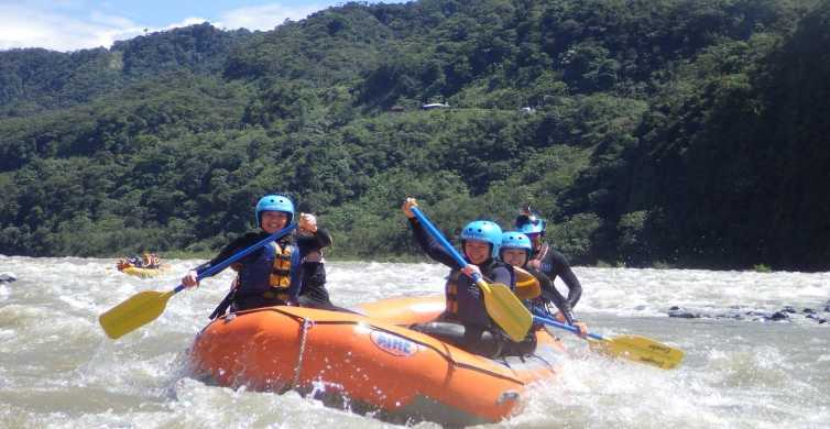 Tena: Full-Day Whitewater Rafting on the Jatun Yacu