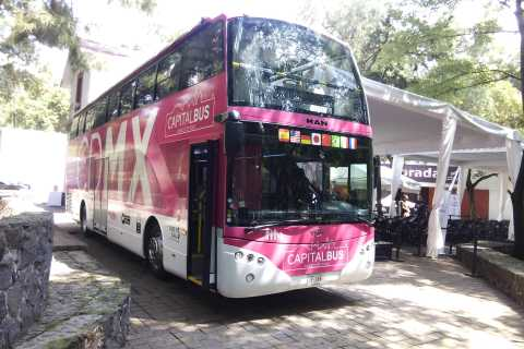 Mexico City: Hop-On Hop-Off Capital Bus 1-Day Ticket
