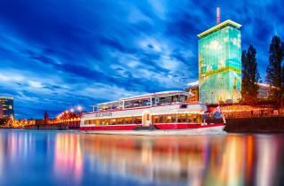 Wien: Schifffahrt auf dem Donaukanal
