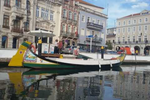 From Porto: Aveiro & Coimbra Small Group Tour + River Cruise