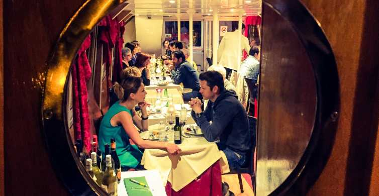 Rome: 2.5-Hour Dinner Cruise on the Tiber River