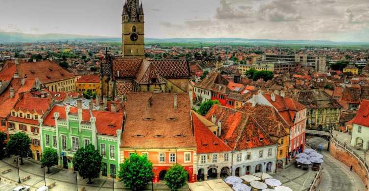 Desde Bucarest: Excursión de un día a Sibiu y la Fortaleza de Fagaras