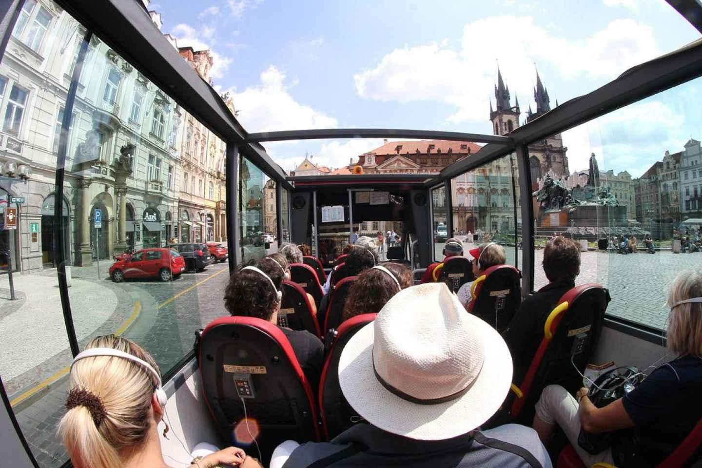Prag: Bustour durch das historische Zentrum