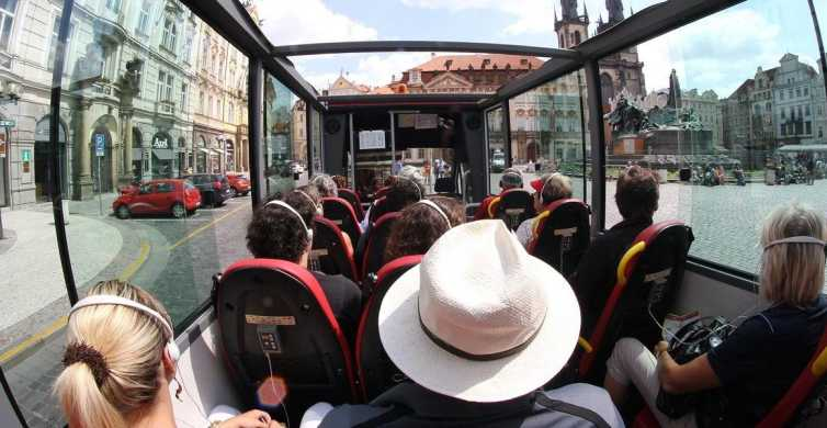 Prague: Historic City Center Bus Tour