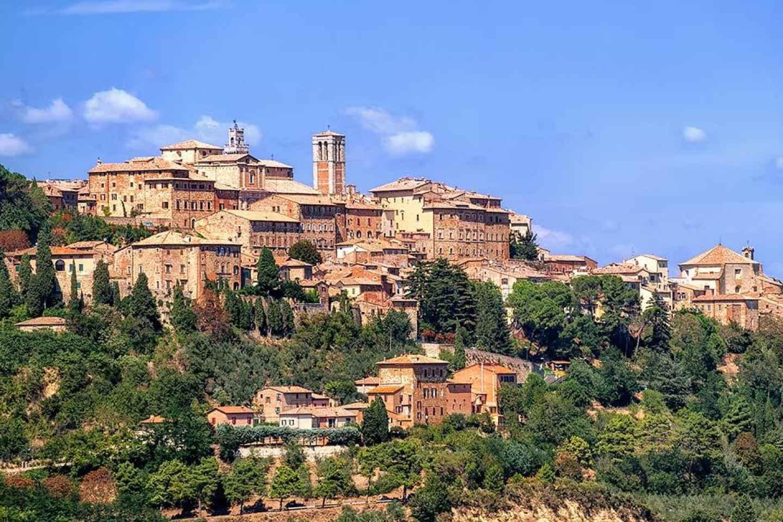 Pienza & Montepulciano: Ganztägige Weintour