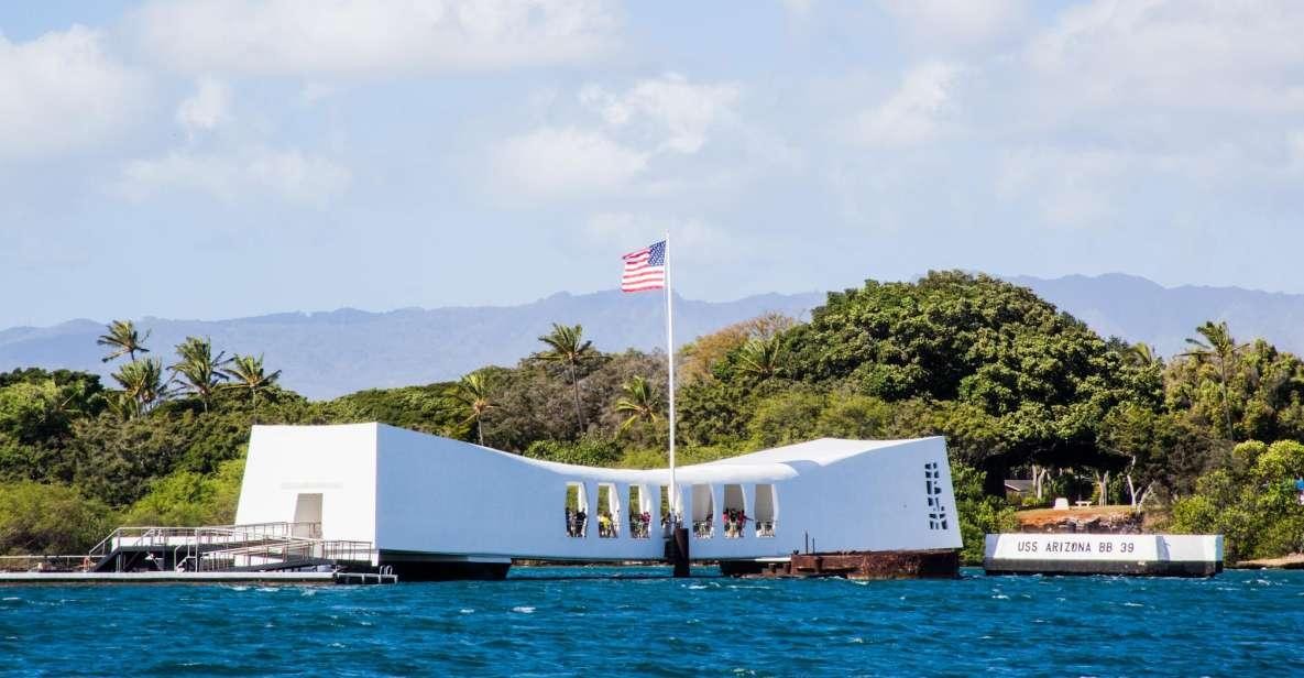 Oahu: Offizielle USS Arizona Memorial-Tour mit Audioguide