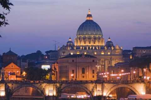 Rome: Night Tour with Pizza and Gelato