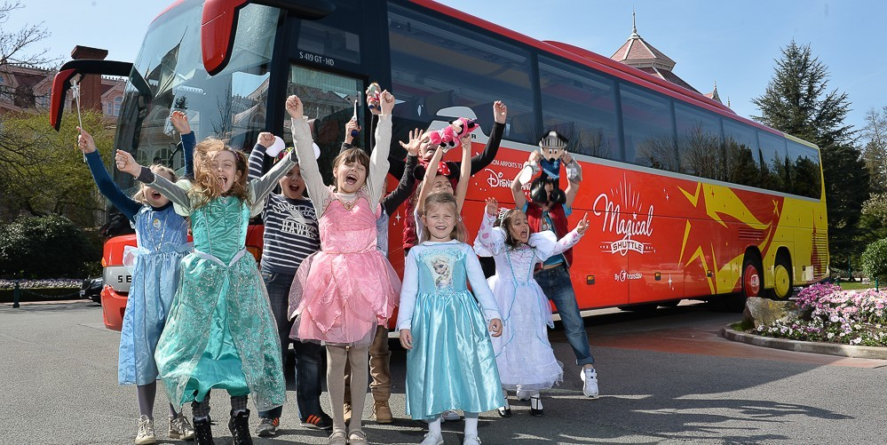 Shuttle Service Between Disneyland Paris and CDG/ORY - Paris, France |  GetYourGuide