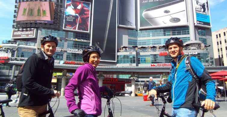 Toronto: Heart of Downtown 3.5-Hour Bike Tour