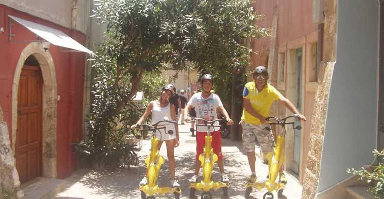 Crete: Chania Trikke Tour Through the Centuries