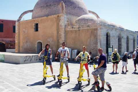 Trikke Tour in Old Chania with Admission to 3 Museums