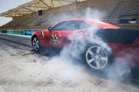 Abu Dhabi: Chevrolet Camaro Drag Driving Experience