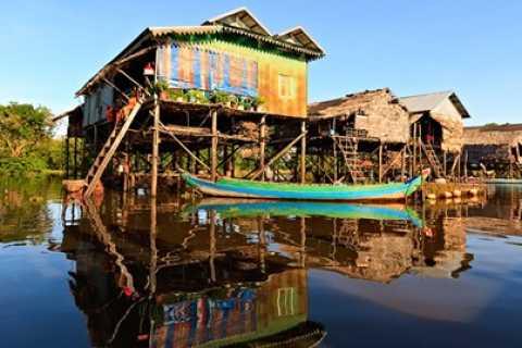 Kompong Phluk Tour from Siem Reap