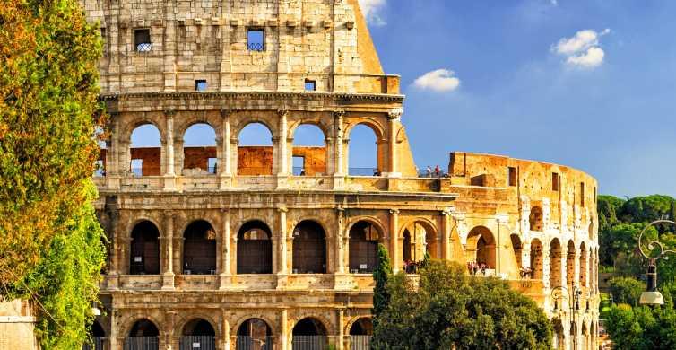 Roma: Coliseo y puerta de gladiadores con visita a la arena