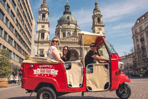 Budapest: Private City Tuk-Tuk Tour & Boat Cruise