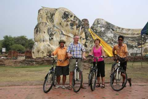 Colors of Ayutthaya: UNESCO Heritage 6 hour Bicycle Tour