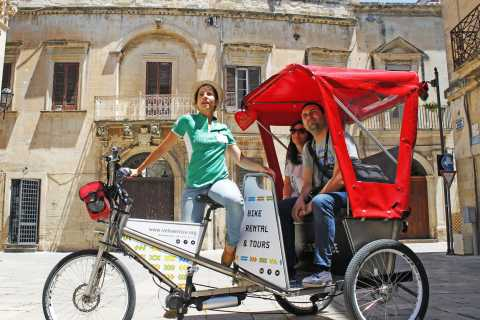 Lecce: Guided Rickshaw Tour