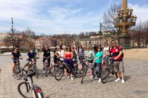 Prag: 2,5-timmars klassisk stadscykeltur