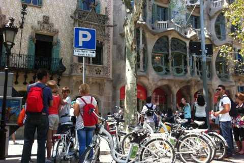 Recorrido por los 5 barrios de Barcelona en bicicleta eléctrica