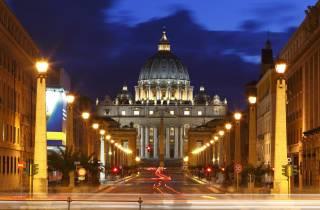 Rom bei Nacht: Kleingruppentour im Licht der Laternen