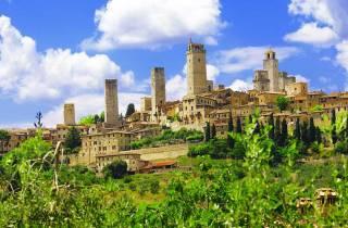 Tagestour ab Pisa: San Gimignano, Siena und Chianti