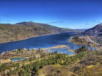 Ab Portland: Tagestour Columbia Gorge & Wein und Wasserfälle