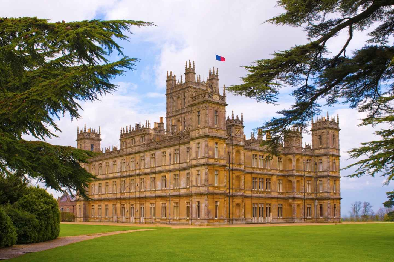 Drehorte Downton Abbey und Tour Highclere Castle