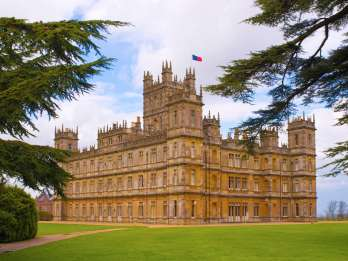 Drehorte Downton Abbey und Tour Highclere Castle
