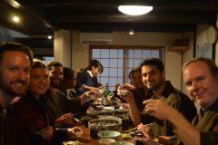 Quioto: Tarde aula de culinária japonesa Izakaya