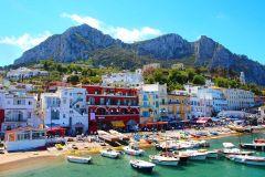 De Nápoles: Excursão de 1 Dia à Ilha de Capri