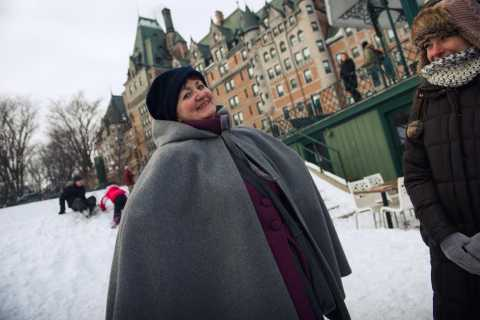 2-Hour Christmas Magic Tour in Old Quebec