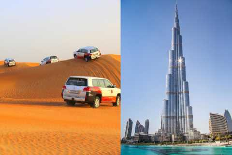 Dubai Desert Safari with Burj Khalifa (Ticket Only)