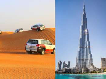 Dubai: Wüstensafari & Burj Khalifa-Ticket