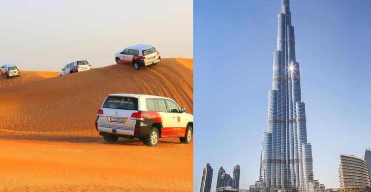 Fra Dubai: Ørkensafari og entrébillet til Burj Khalifa
