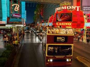 Las Vegas: Abendtour im Open-Top-Bus