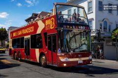 Alcatraz e Big Bus Premium: Ônibus Hop-on Hop-off 1 Dia