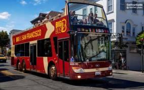 Alcatraz and Big Bus Premium 1-Day Hop-On Hop-Off