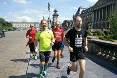 Bruxelas: Jogging pelo Centro Histórico