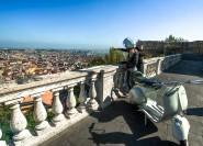 Private Tour: Neapel Essen Tasting Tour durch Vintage Vespa