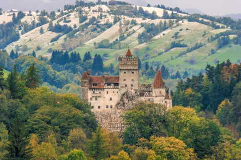 Peles, Dracula's Castles & Brasov: Private Day Trip & Pickup