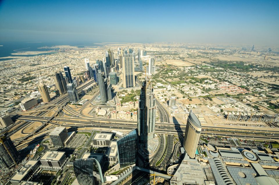 Bilety na Burdż Chalifa w Dubaju: piętra 124 i 125