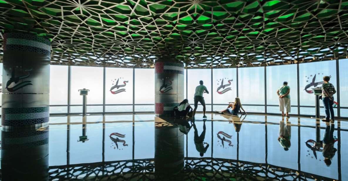 ドバイ:ブルジュ ハリファ チケット 124階&125階