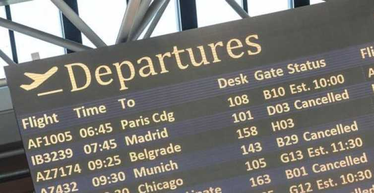 Flughafen Rom Fiumicino: Gemeinschaftstransfer