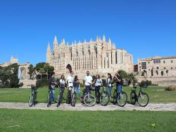 Palma de Mallorca: Führung durch die Altstadt per Fahrrad