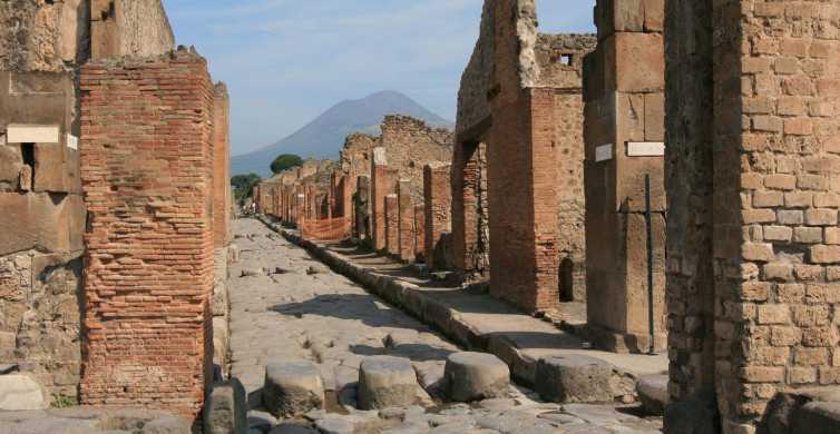 De Roma: excursão a Nápoles e Pompéia com almoço de pizza