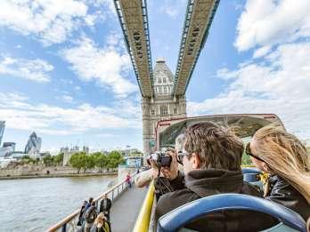 London: Die Original Hop-On/Hop-Off-Bustour