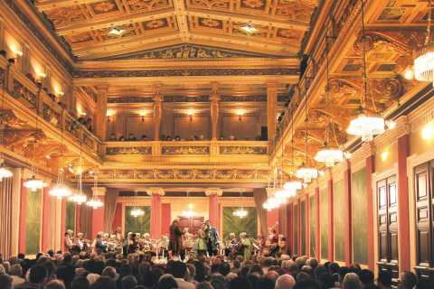 Vienna: Mozart and Strauss Concert in the Brahms-Saal