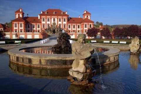Prag: 3-timmars River & Park Bike Tour till Troja Chateau